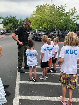 Meridian Police and Summer Camp kids .jp