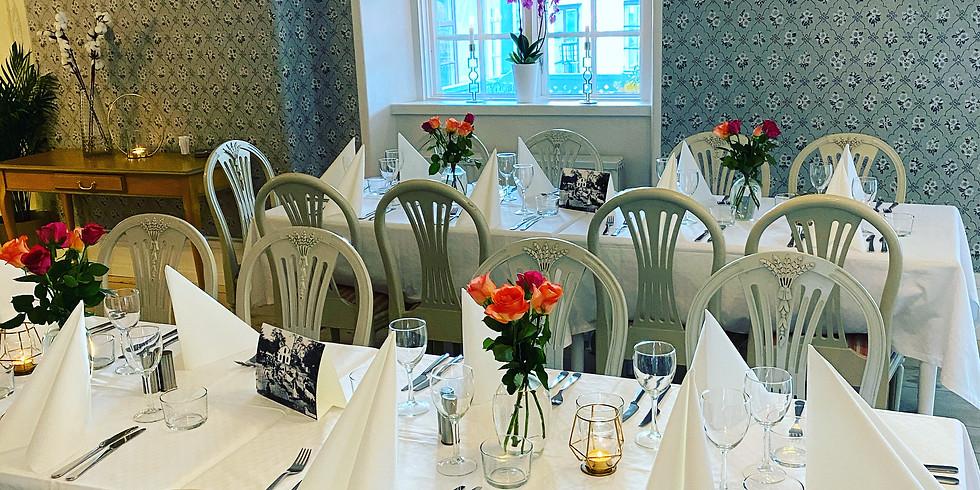 Wärdshuspaket – 3-rätters middag med logi på hotellet