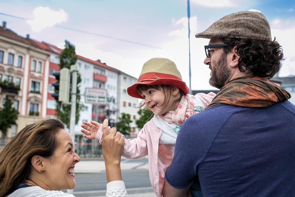 Familienfoto in Nürnberg
