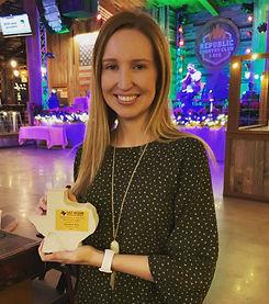 Elizabeth TRAPS award.jpg