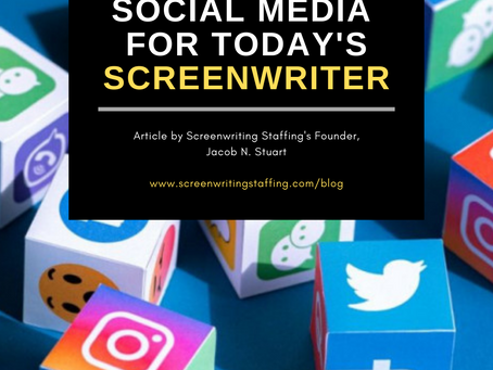 Social Media for today's Screenwriter