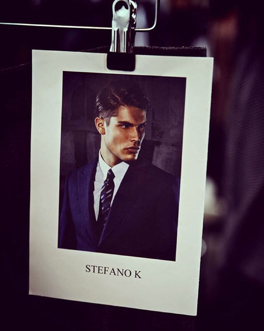 Stefano's card on the #mbfwberlin2016 fo