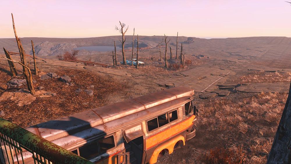 Screenshot of unfinished Fallout 4 mod
