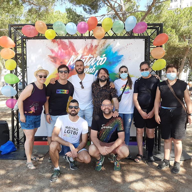 Photocall Mataró amb Orgull