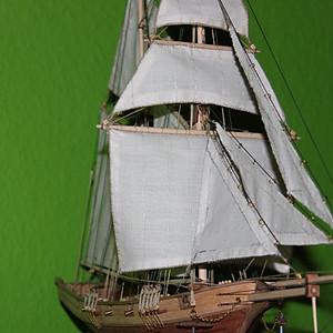 Modell Segelschiff