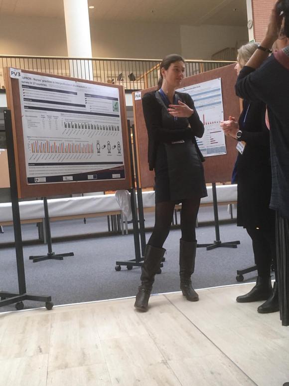 Elyne De Baetselier wins best poster prize @Eurodurg