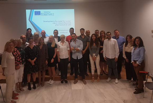 The first DeMoPhaC transnational meeting in Alicante