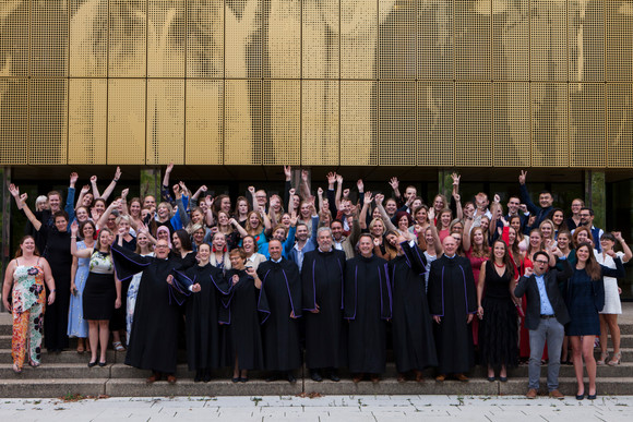 Congratulations to the new masters in nursing science, University of Antwerp  - 2 out of 3 awards fo