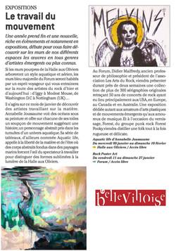 """journal """"la Belleviloise """""""