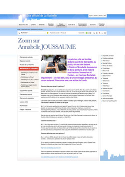 """""""Zoom sur..."""" site de la rochelle"""