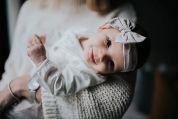 Newborn smiles