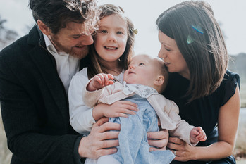 Family squeeze for new baby