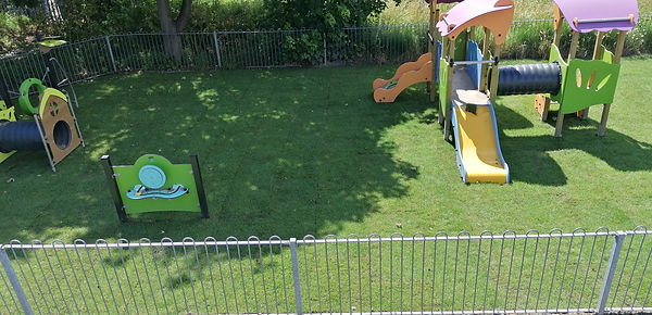 New baby and toddler play area, Dyserth, August 2020