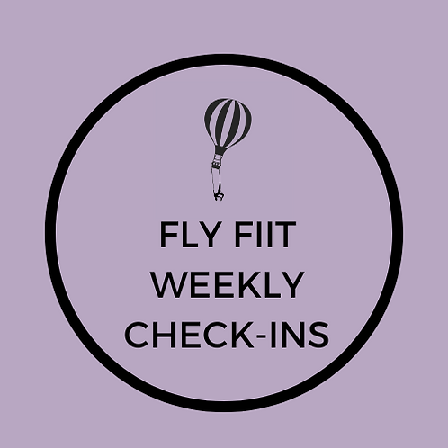 Fly FIIT Personal Check-Ins Add-On