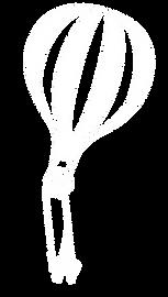 Small Flight Training Balloon White 300d