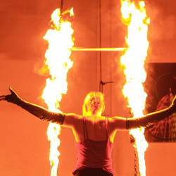Fire Trapeze Debut