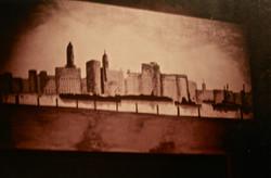 B&W Painting-Set Backdrop