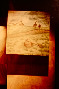 Watercolor Painting-Set Backdrop