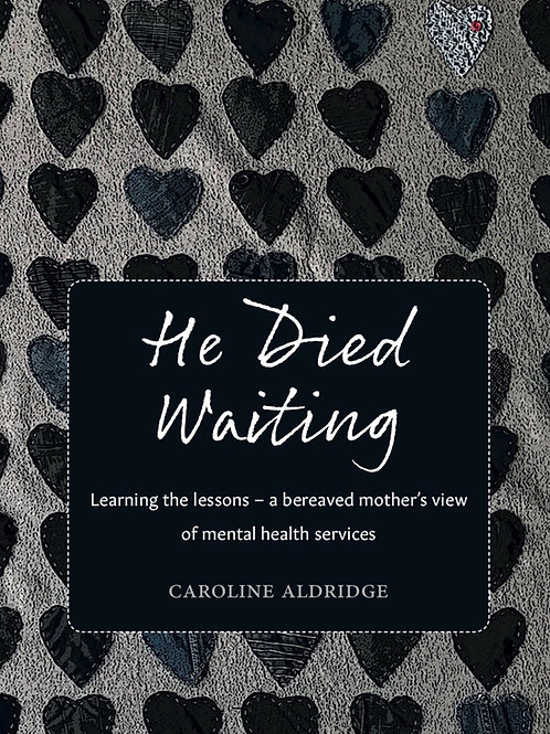 Book: He Died Waiting by Caroline Aldridge