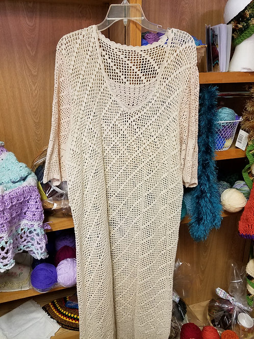 Timeless Crocheted Dress