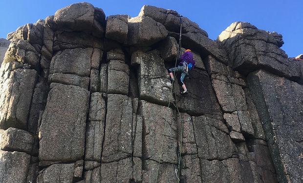 Mountain Training Rock Skills Intermediate course
