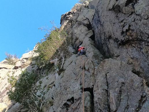 Mountain Multipitch Climbing