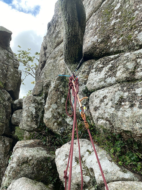 Climbers Improvised Self Rescue Course