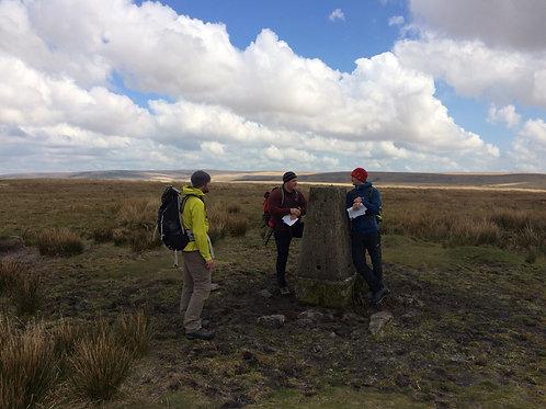 NNAS Gold Award Training Dartmoor