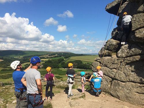 rock climbing adventure session