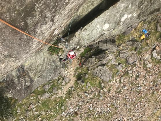 Guided Mountain Multipitch Rock Climbing