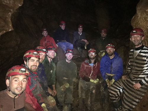 group caving