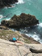 Multipitch Sea Cliff Climbing