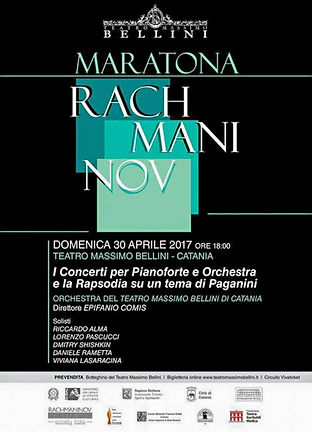 Rachmaninov Piano Concertos and Rhapsody Youth Project