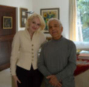 Violetta Egorova and Vladimir Ashkenazy