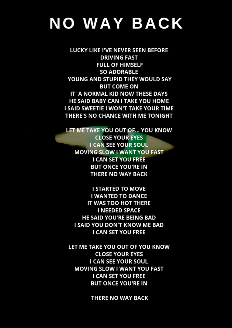 No Way Back - Awake Album