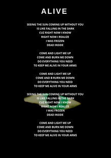 Alive - Awake Album