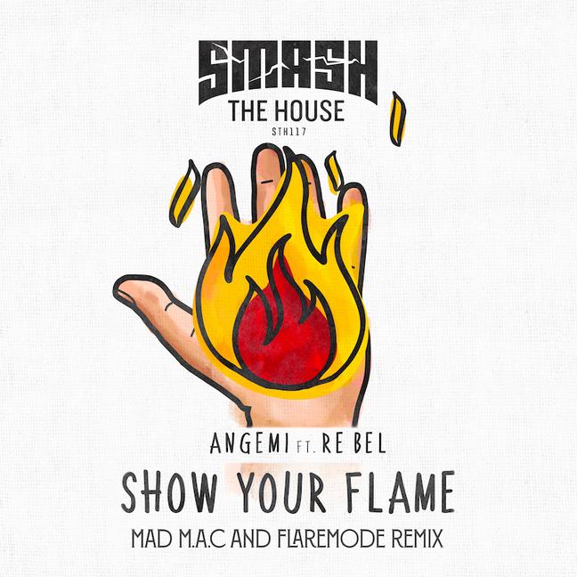 """Mad M.A.C & Flaremode produzem um remix incrível para Angemi's """"Show Your Flame"""""""