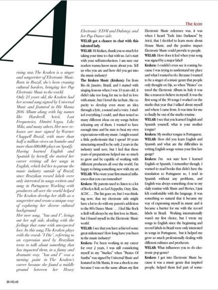 WELAB 03 Magazine (NYC - USA)- The Kraken Music - .JPG