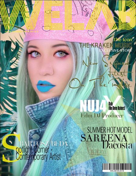 WELAB 00 Magazine (NYC - USA) - The Kraken Music - .JPG