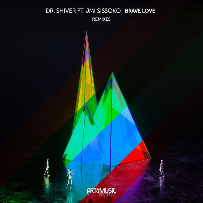 """ART & MUSIC RECORDINGS Lança 5 TOP  REMIXES de DR.SHIVER'S SINGLE """"BRAVE LOVE""""!!!"""