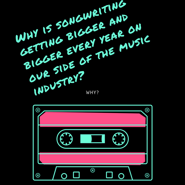 Por que o número de compositoresesta se tornando cada vez maior no nosso lado da indústria da músic