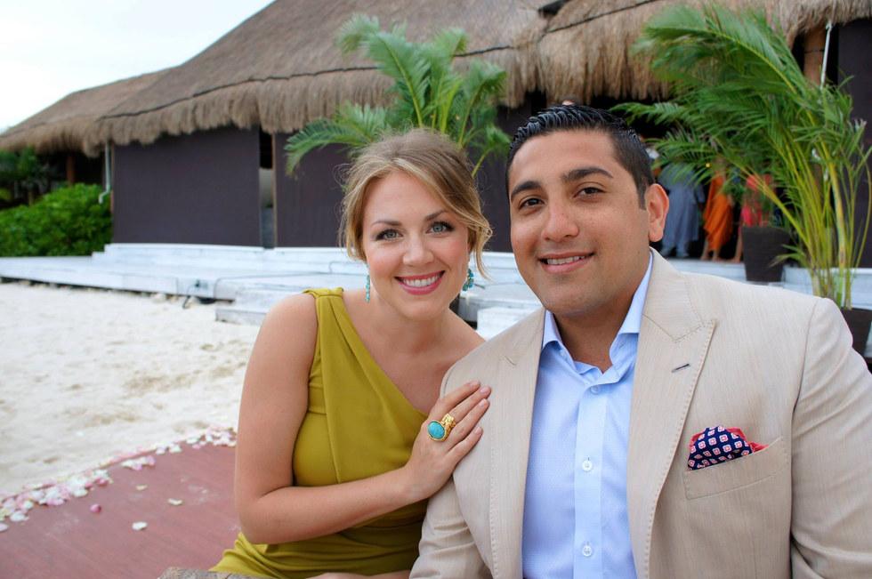 Astrid and Kayaan's Wedding, Mexico, 2013