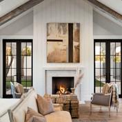 Black & White Modern Farmhouse Meets Cla