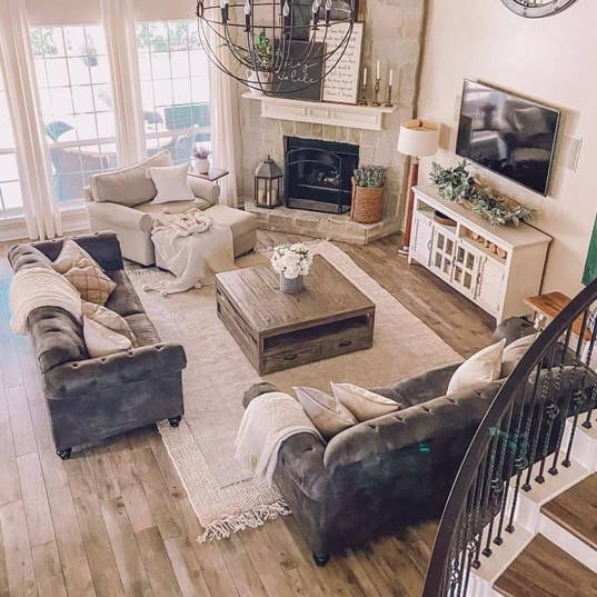 The 60 Best Farmhouse Living Room Ideas