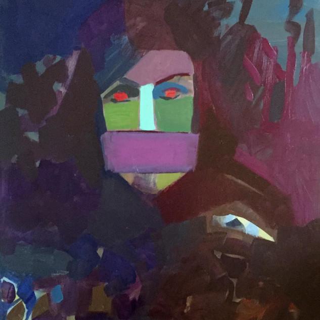 Viha portree Anger portrait