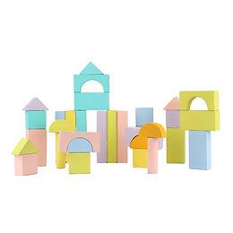 Pastel Building Blocks - 32 pc Set