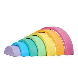 Pastel Rainbow Stacker 7 piece