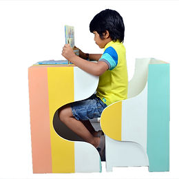 Kids Study Table Set - Chair and Table