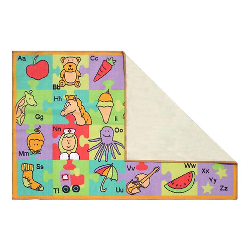 ABC Print Playrug
