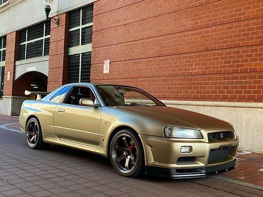 2001 Nissan Skyline R34 GTR M-Spec